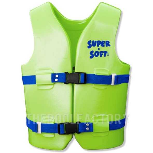 Super Soft Vest - Child Youth Medium Green 50-90lbs.