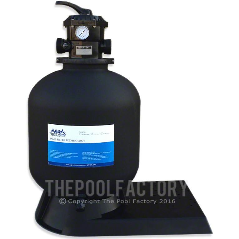 "AquaPro 19"" Sand Filter with Base"