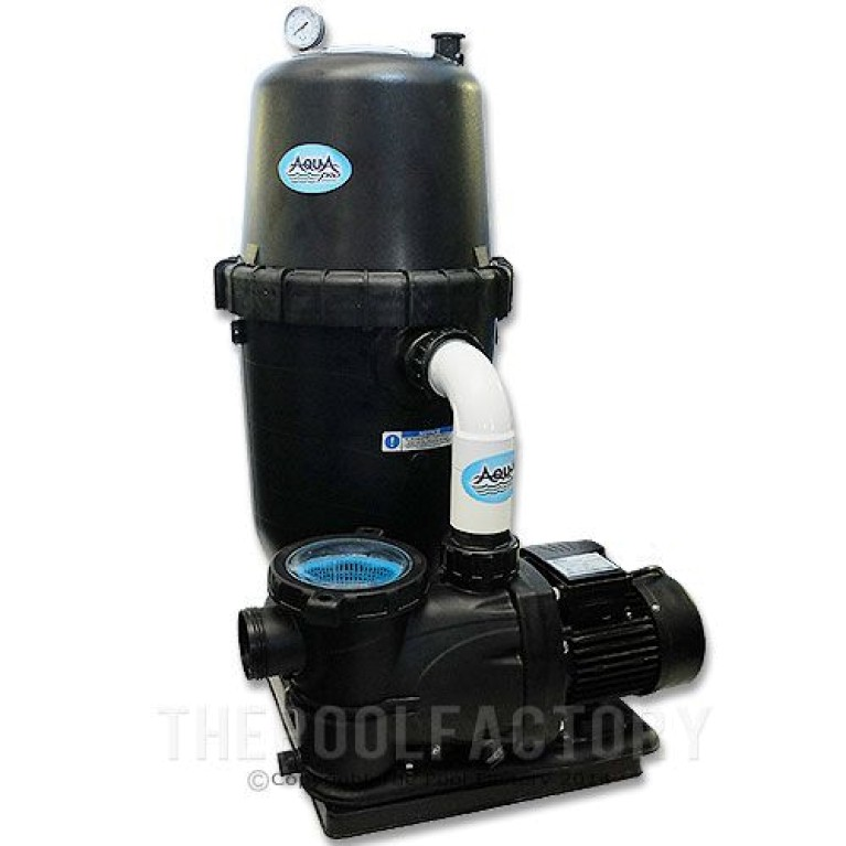 AquaPro 190 SQ. FT. Cartridge Filter System 2-HP 2-Speed Pump 2 Year Warranty