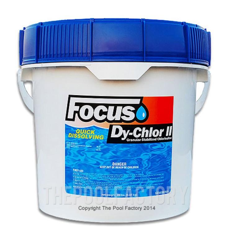 Focus Chlorine Granular 10lbs - Quick Dissolving