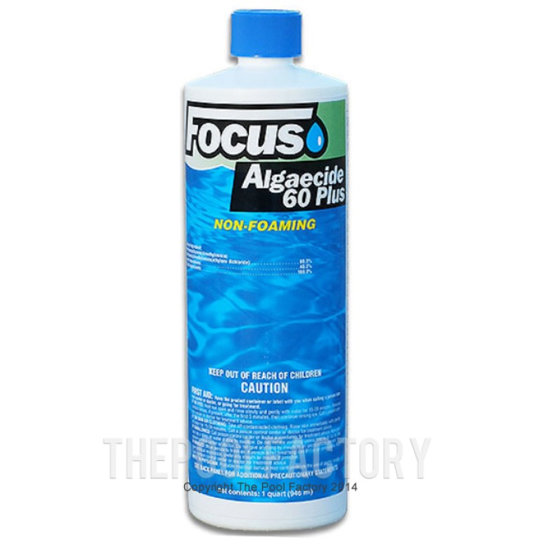 Focus Algaecide 60 Plus Non-Foaming 1qt.