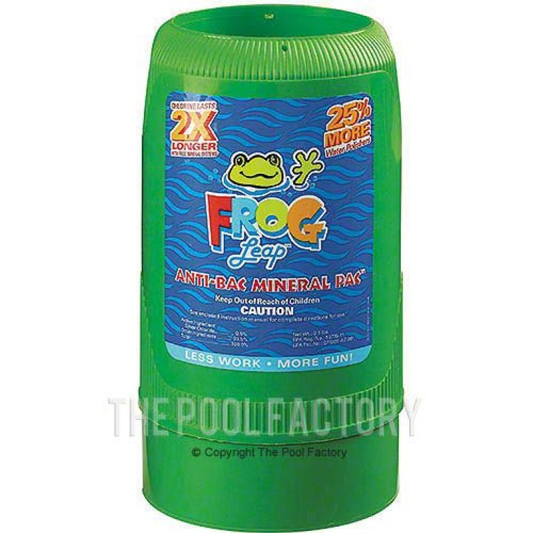 Pool Frog Leap Anti-Bac Mineral Pac - 01-12-7822