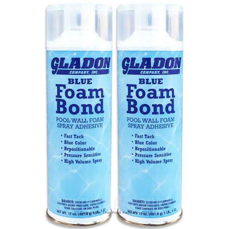 Gladon Foam Bond Spray Adhesive for Wall Foam - 2 Pack