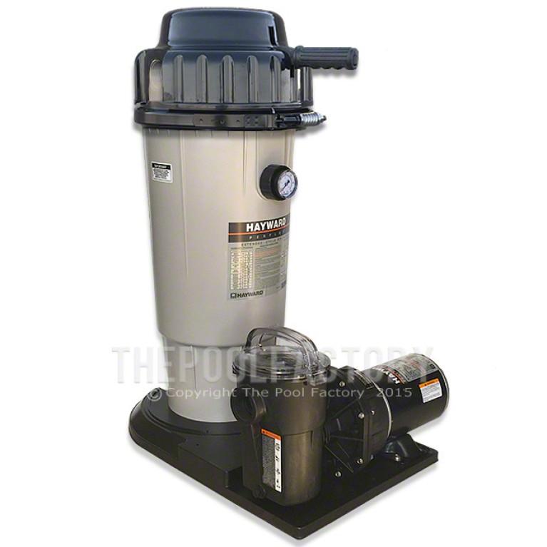 Hayward Perflex EC50 D.E. Filter System 1.5HP Power-Flo Pump