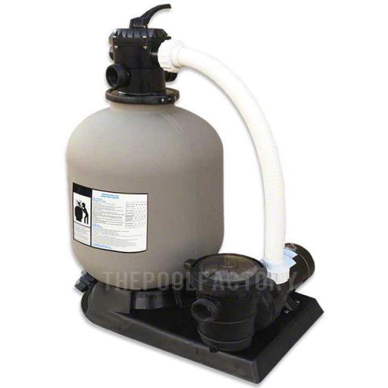 "Hydrotools 16"" Sand Filter System 1-HP Pump"
