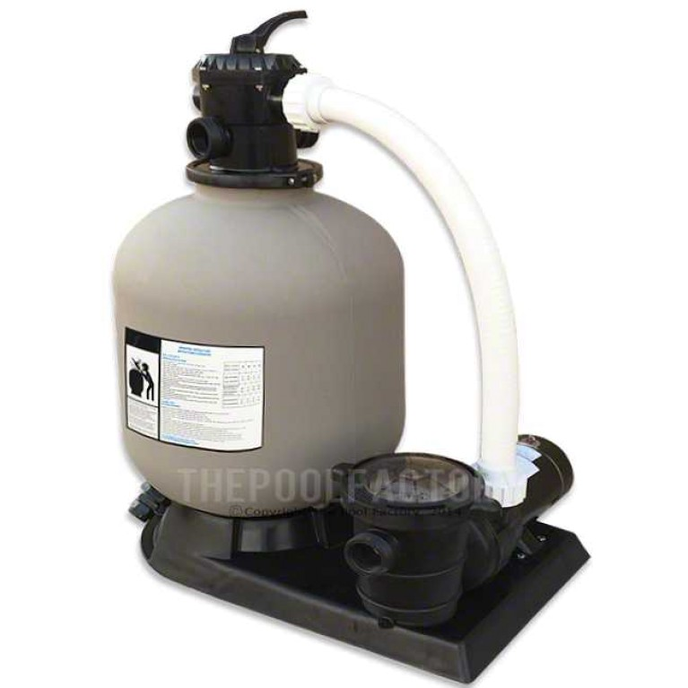 "Hydrotools 19"" Sand Filter System 1.5HP Pump"