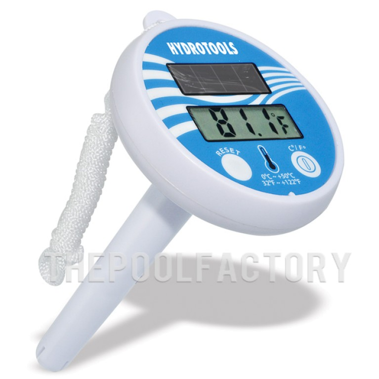 HydroTools Swimline Solar Powered Thermometer 9250