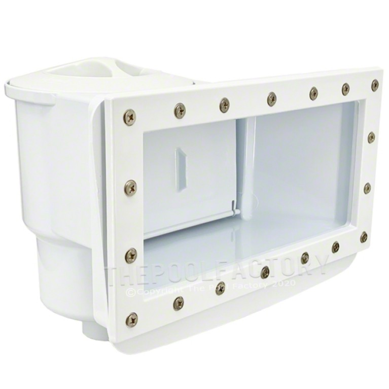 Olympic Wide-Mouth Saltwater Friendly Above Ground Thru-Wall Skimmer & Return Fitting