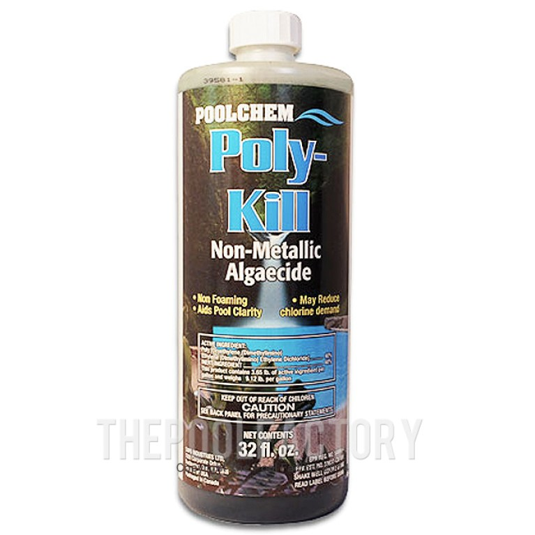 Poly-Kill Algaecide 40% Non-Foaming 1qt.