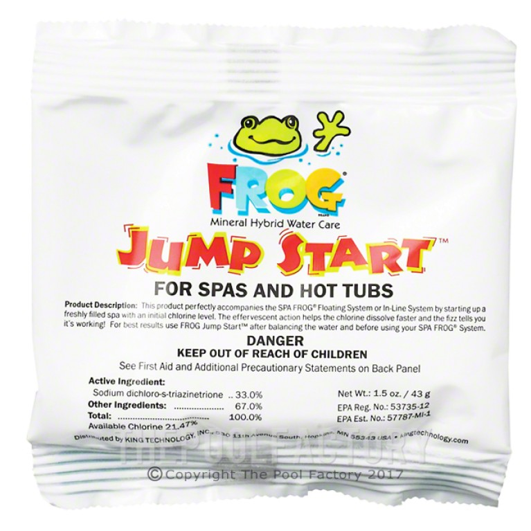 Frog Jump Start For Spas & Hot Tubs 1.5 Oz.