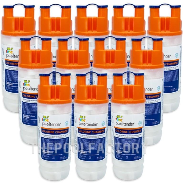 Frog Pool Tender Chlorine Chamber - 12 Pack