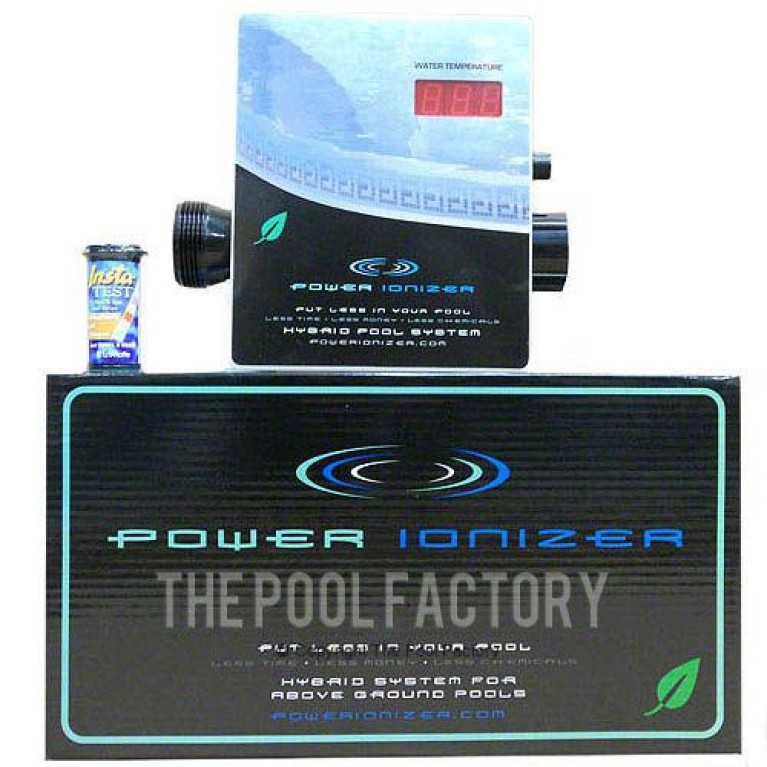 Power Ionizer - Hybrid Sanitizer For Above Ground Pools 444301