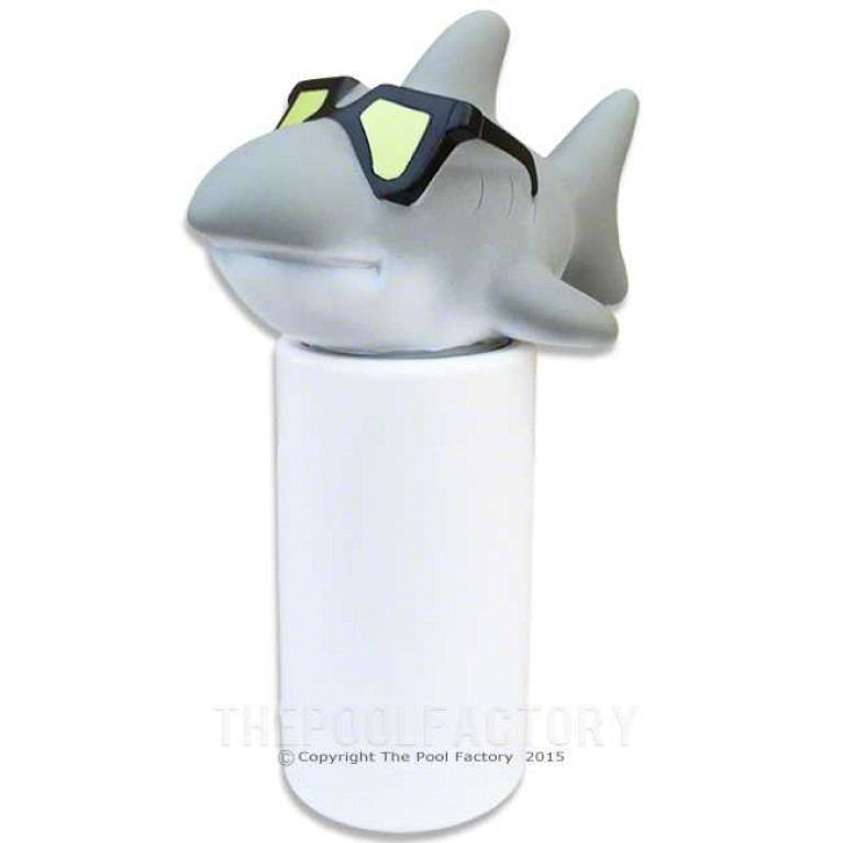 HydroTools Floating Cool Shark Chlorine Tablet Dispenser