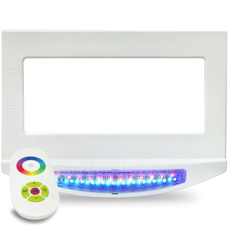 Multi-Color LED Skimmer Face Plate Light with Remote Control