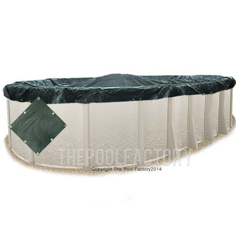 8'x14' Oval Supreme Guard Winter Cover