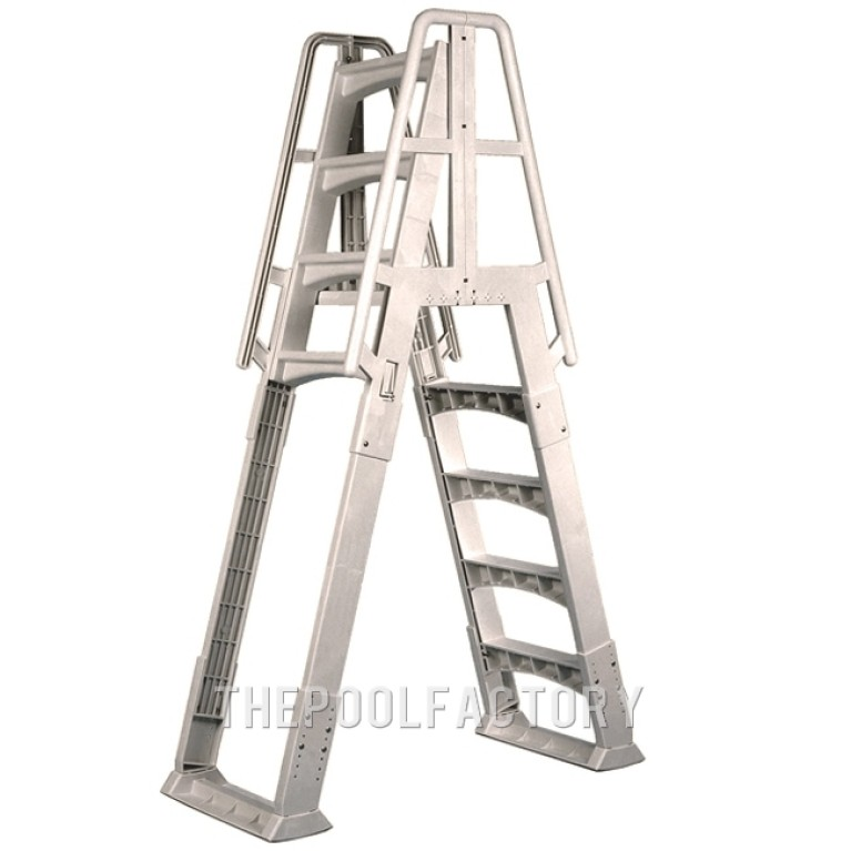 Vinyl Works Slide & Lock A-Frame Ladder