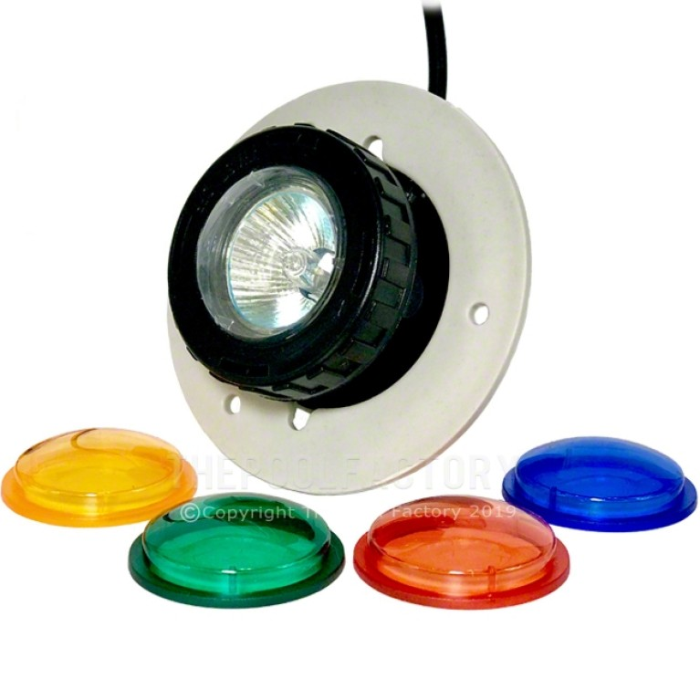 Vinyl Works Step Light 12V with Color Lenses