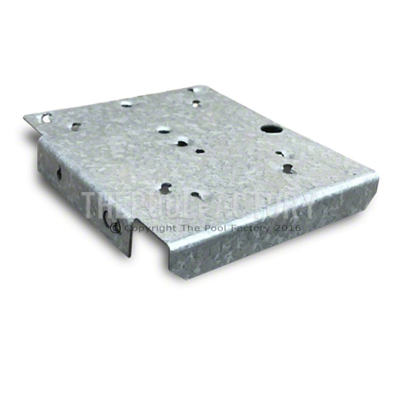 Top Joiner Plate for Straight Side Uprights on All Oval Quest/Morada Pool Models