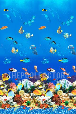 """24'x48"""" Round Uni-Bead Aquarium Liner - 25 Gauge"""