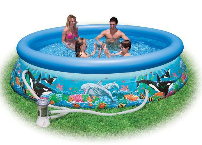 12 X 30 Quot Intex Ocean Reef Easy Set Pool 54905eg