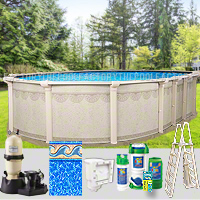 8 X16 X52 Quot Hampton Oval Pool Package