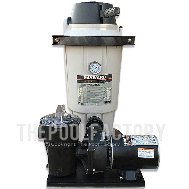 Hayward Perflex Ec40 De Pool Filter System For Above