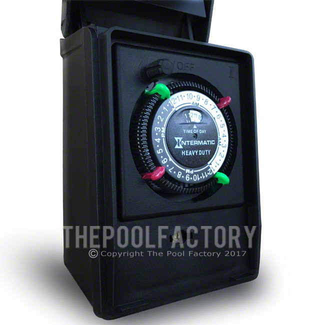 Intermatic Heavy Duty Portable Standard Plug In Outdoor Timer
