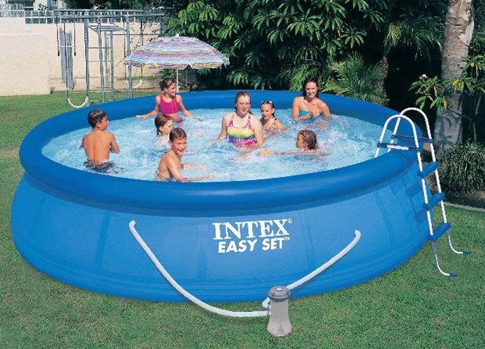 15 39 x 42 intex easy set pool 56408eg. Black Bedroom Furniture Sets. Home Design Ideas