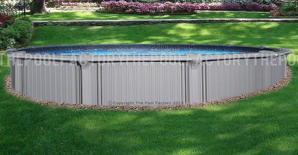 Intrepid Round Pool - Installed Semi-Inground