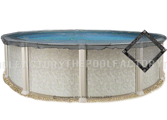 27 39 Round Pool Leaf Net Cover The Pool Factory