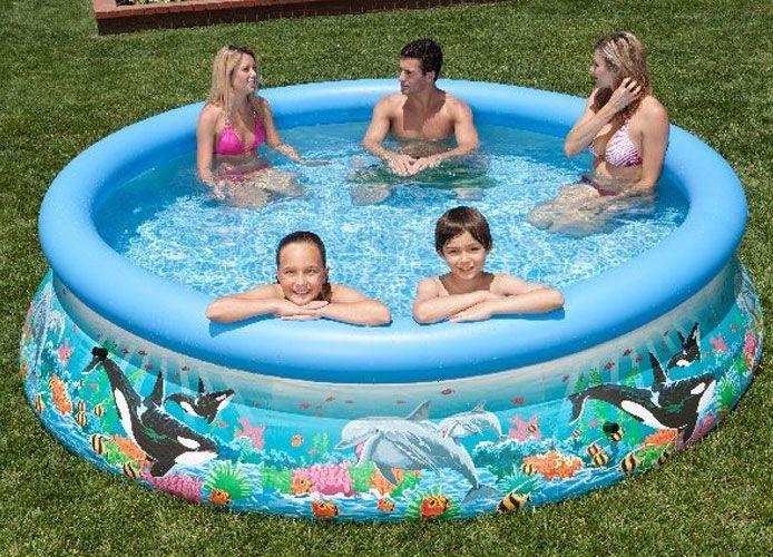 12 39 x 30 intex ocean reef easy set pool 54905eg. Black Bedroom Furniture Sets. Home Design Ideas