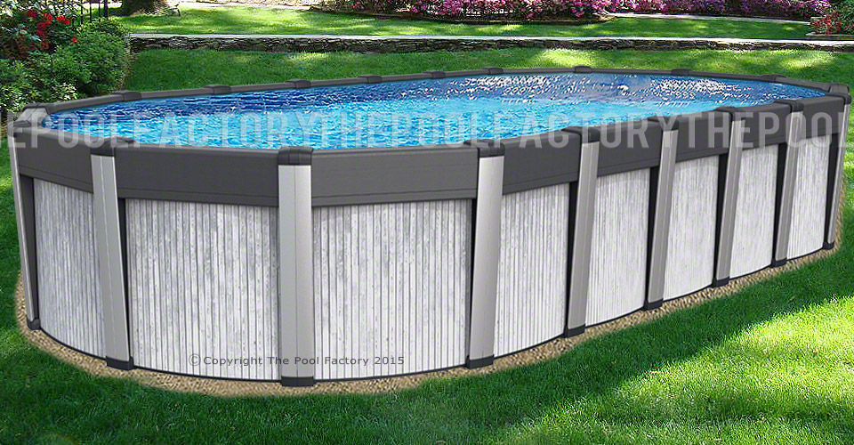 Preference Oval Above Ground Pools The Pool Factory