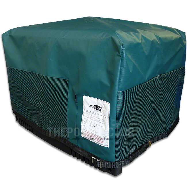 Pro Tech Electric Heat Pump Cover Fits Most Large Heat Pumps