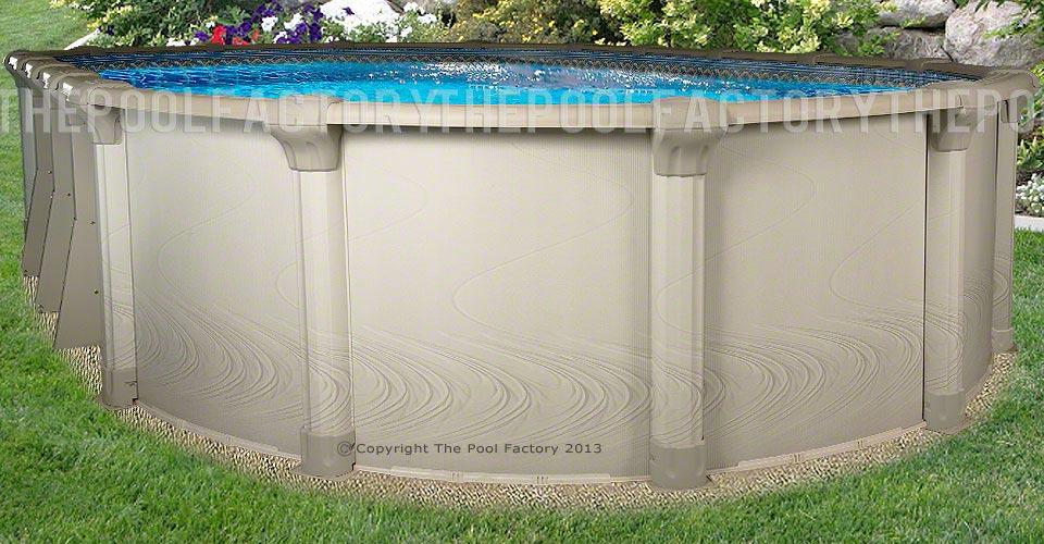 "15'x30'x54"" Quest Oval Pool"