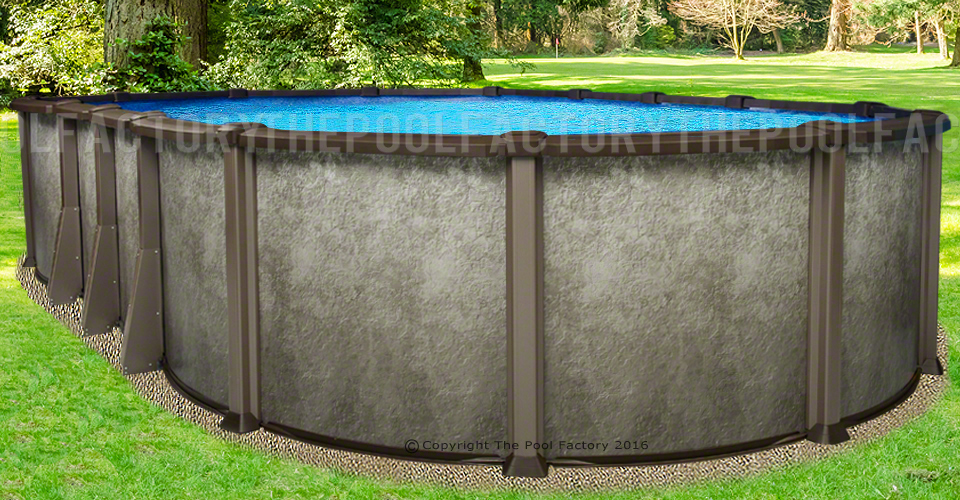 Saltwater LX Oval Pool