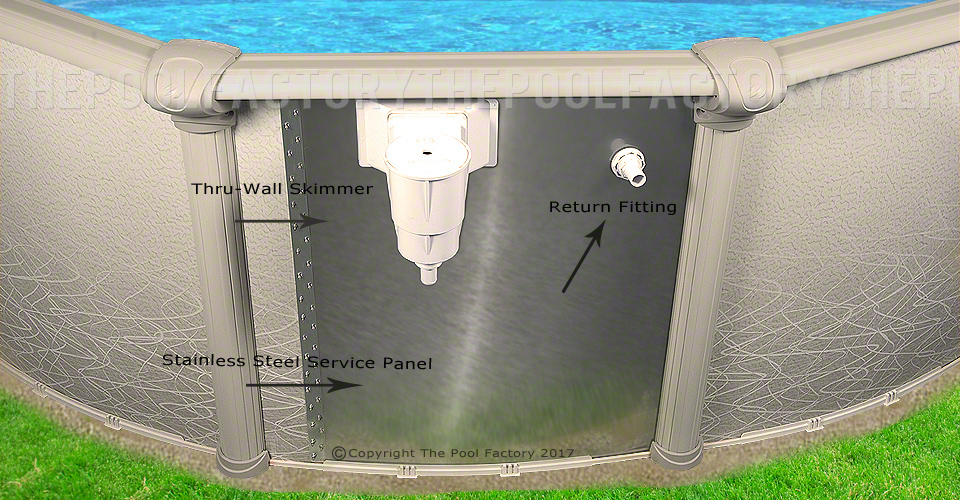 21 39 x52 saltwater 5000 round pool 21 39 round pools - Saltwater swimming pool maintenance ...