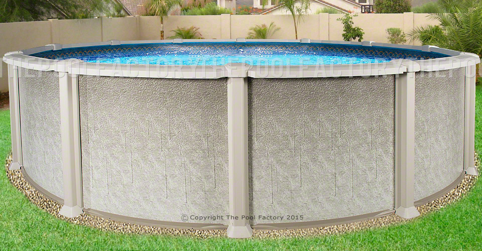 "30'x54"" Saltwater 8000 Round Pool"