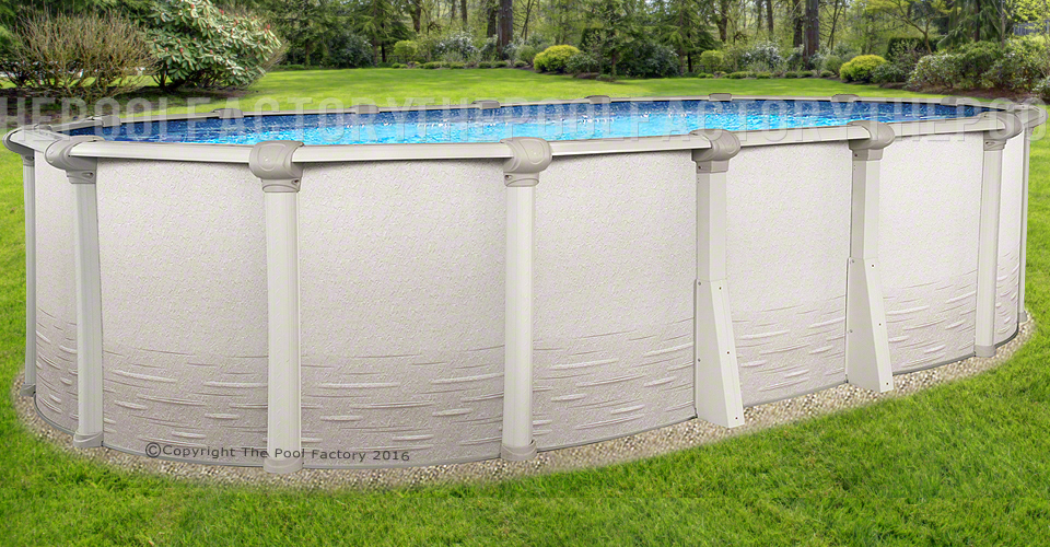 Signature Rtl Oval Above Ground Pools The Pool Factory