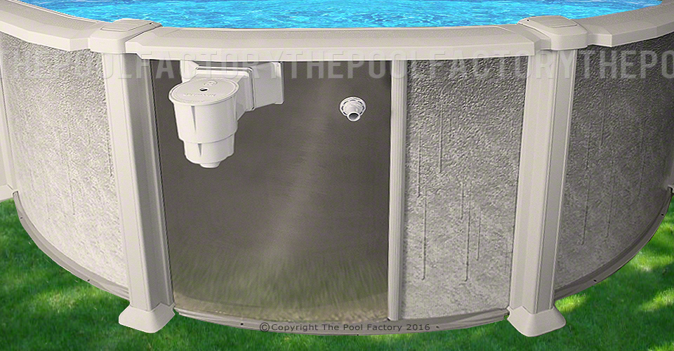 Saltwater 8000 Oval Saltwater Pools The Pool Factory